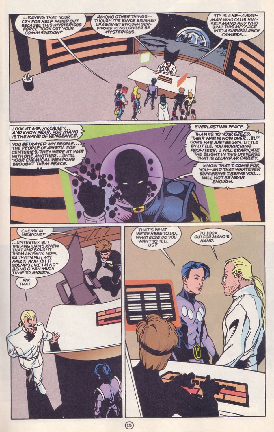 Legion of Super-Heroes (1989) 63 Page 15