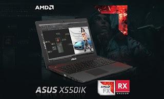 Asus X550 IK Gaming Laptop laptop bermain PUBG terbaru