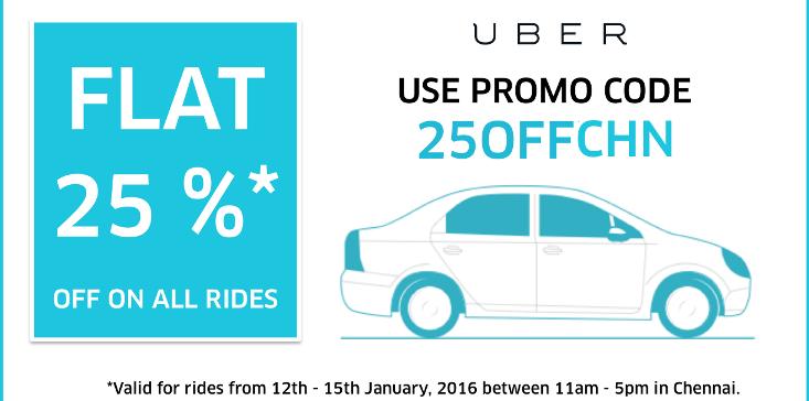 Uber promo code chennai existing users