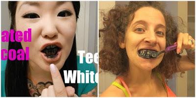 Sikat Gigi Pakai Arang, Gigi Putih Seketika!