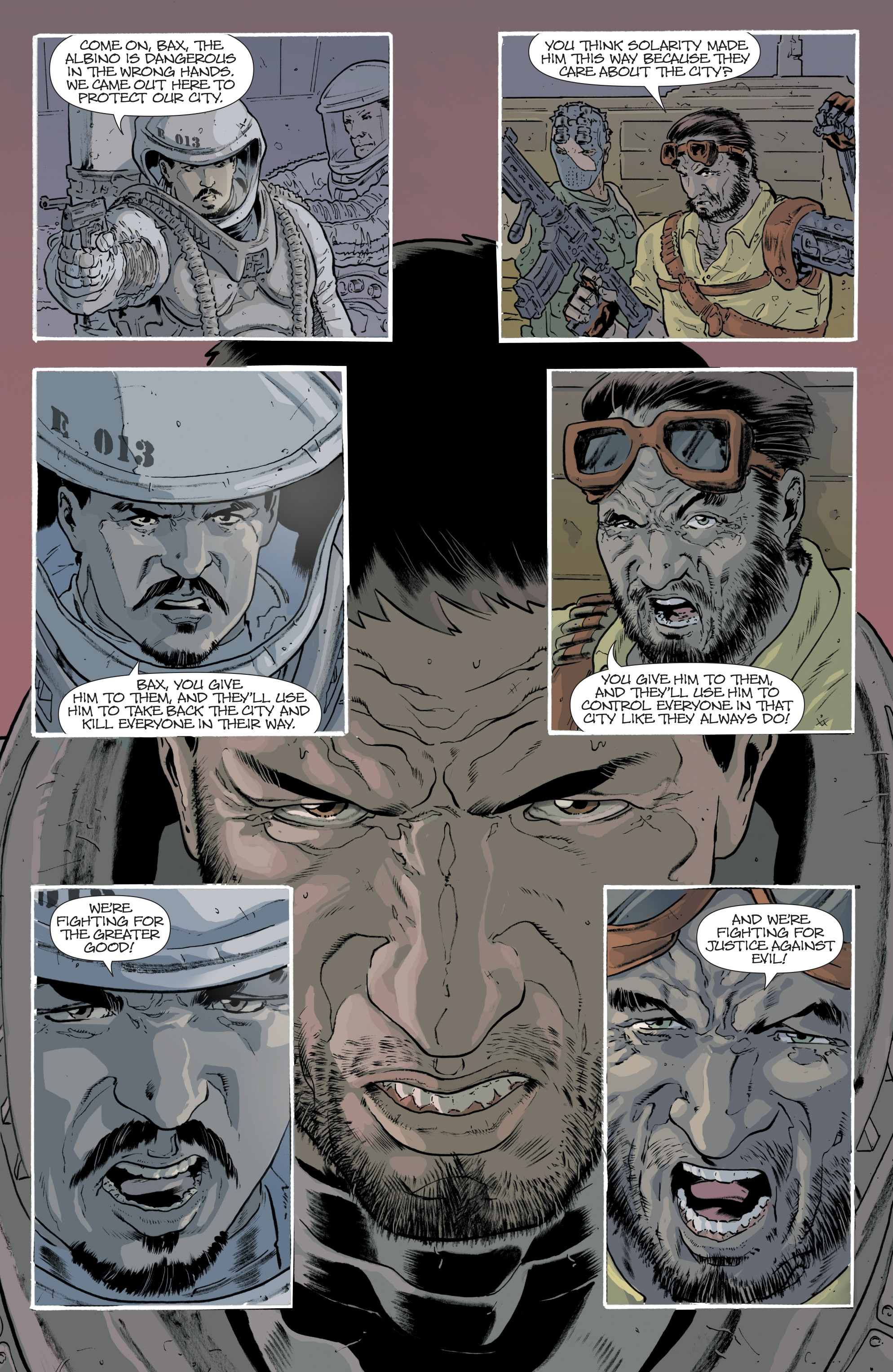 Read online Eclipse comic -  Issue #8 - 13
