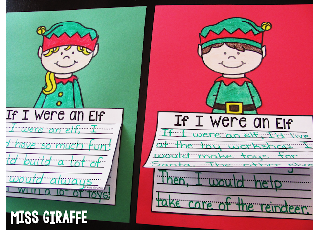 Elf writing activities and crafts that are so much fun for December