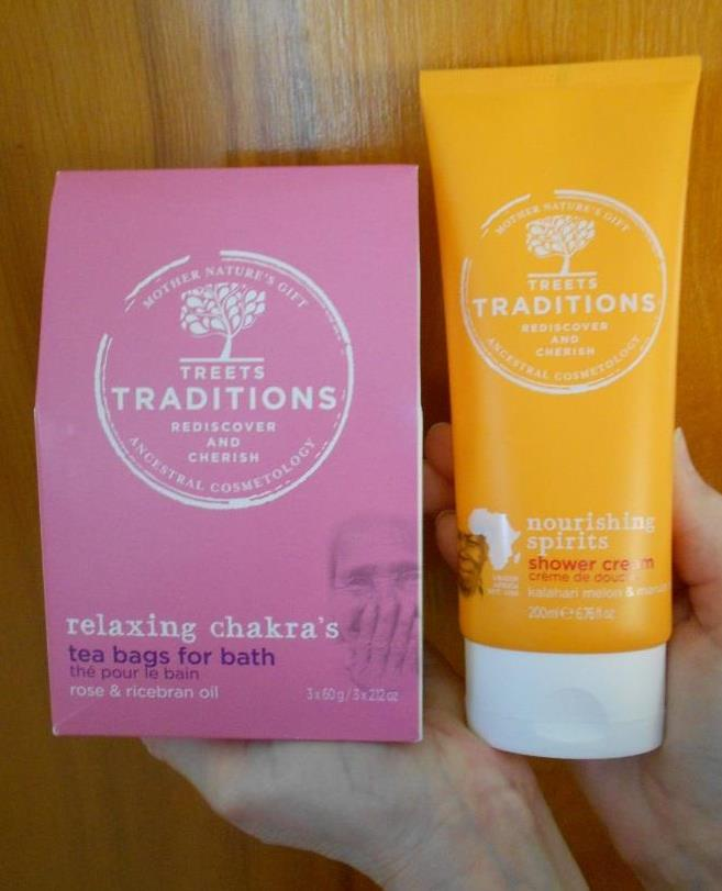 Treets Traditions Relaxing Bath Tea and Shower Cream