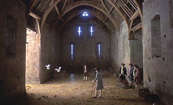 A famous duel in Barry Lyndon
