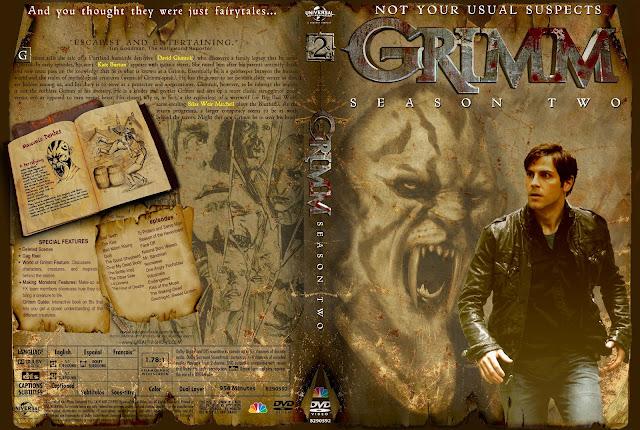 Capa DVD Grimm Segunda Temporada Completa