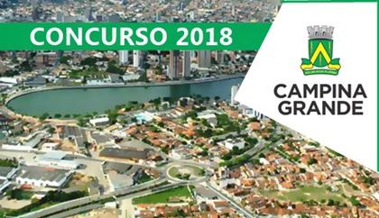 Concurso Prefeitura de Campina Grande-PB 2018