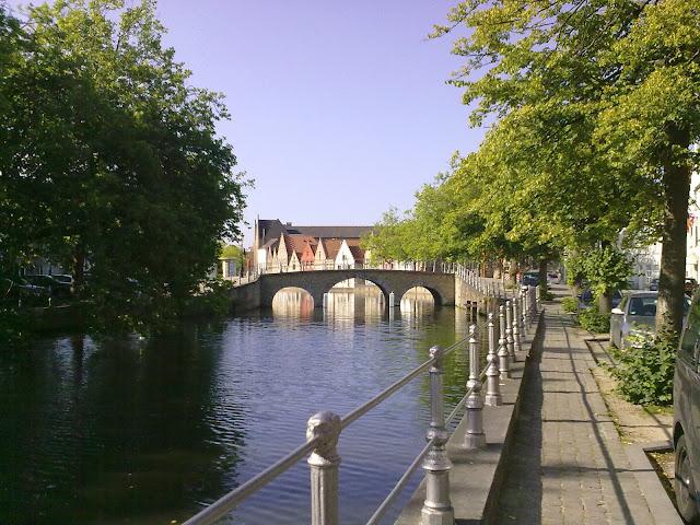 Canal de Bruges Bélgica