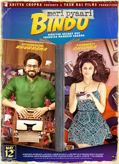 Meri Pyaari Bindu 2017 Hindi Movie 170Mb hevc DVDRip