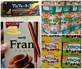 Chocolates japoneses