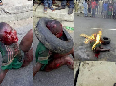 THE UNTOLD: Why Lagos 'Garri' Thief Was Actually Lynched To Death - Eyewitness