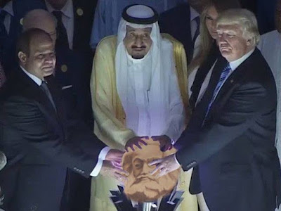 There s an image I really want to do with that Trump orb thing.
