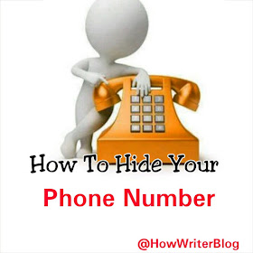 Hide phone numbered