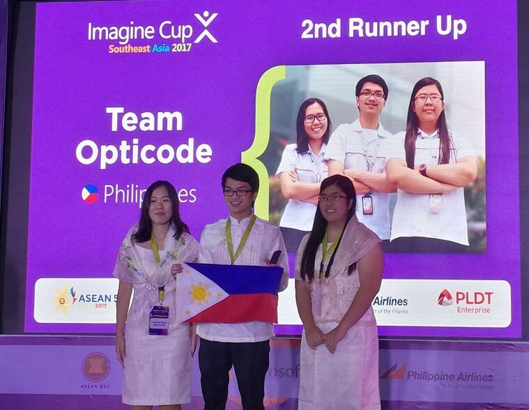 PH Team Wins 2nd place at Microsoft Imagine Cup Regional Finals