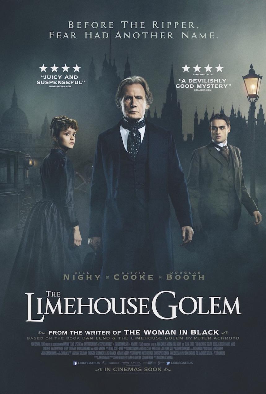 THE LIMEHOUSE GOLEM, de Juan Carlos Medina llegará a la gran pantalla el 8 de septiembre