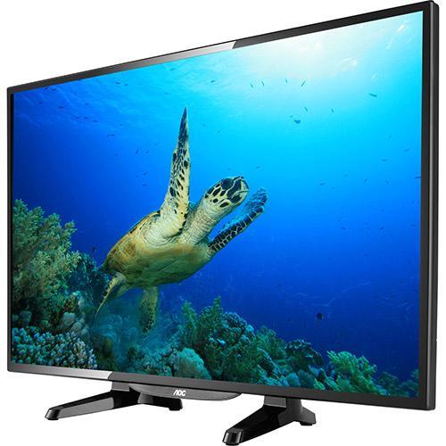 """A TV LED 32"""" traz a altíssima definição da imagem"""