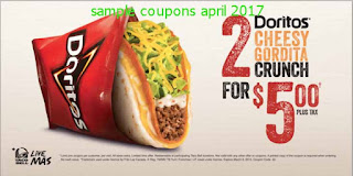free Taco Bell coupons for april 2017