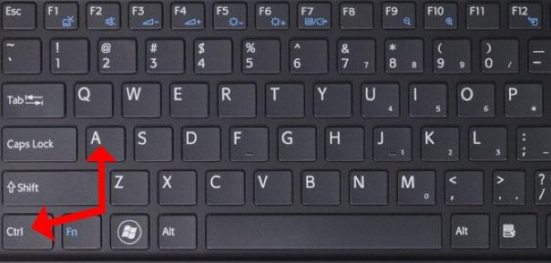Fungsi Tombol Keyboard CTRL+ A sampai Z pada Microsoft Word