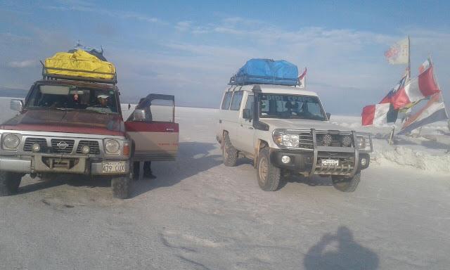 Grüße vom Salar de Uyuni