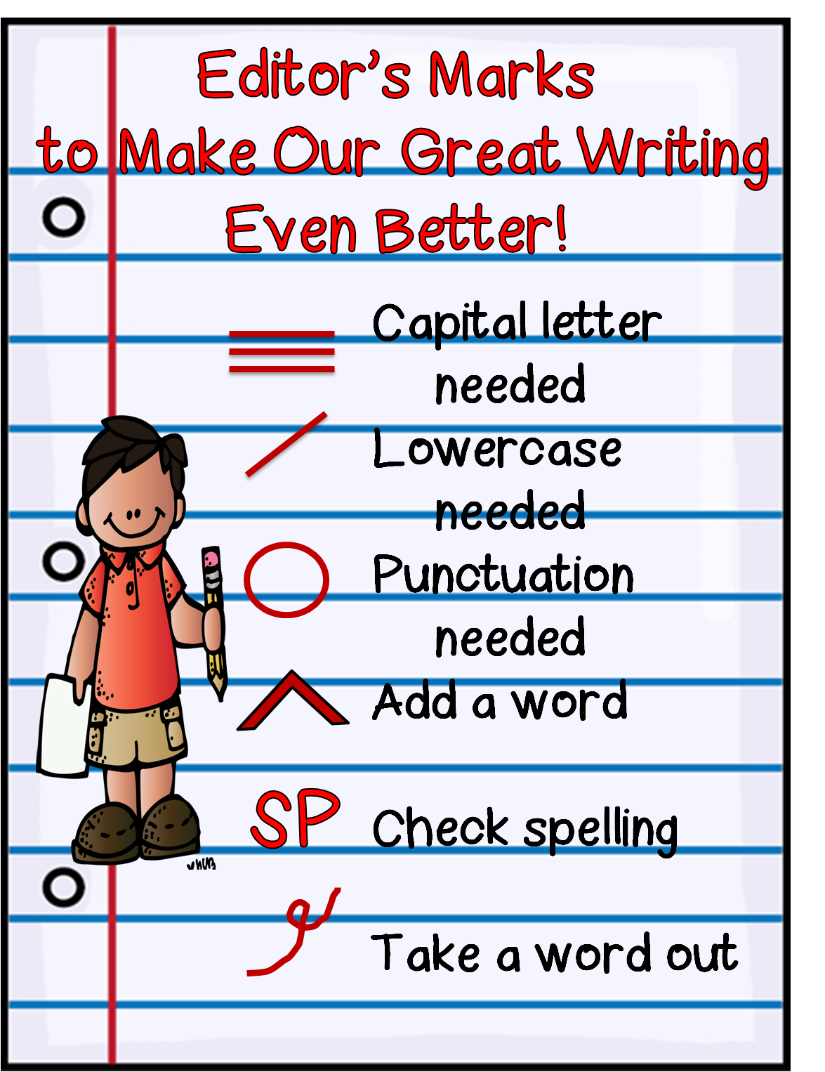 graphic relating to Editing Marks Printable named Very first Quality Wow: Hows My Producing?