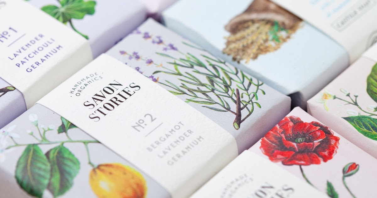 savon stories organic soap on packaging of the world creative