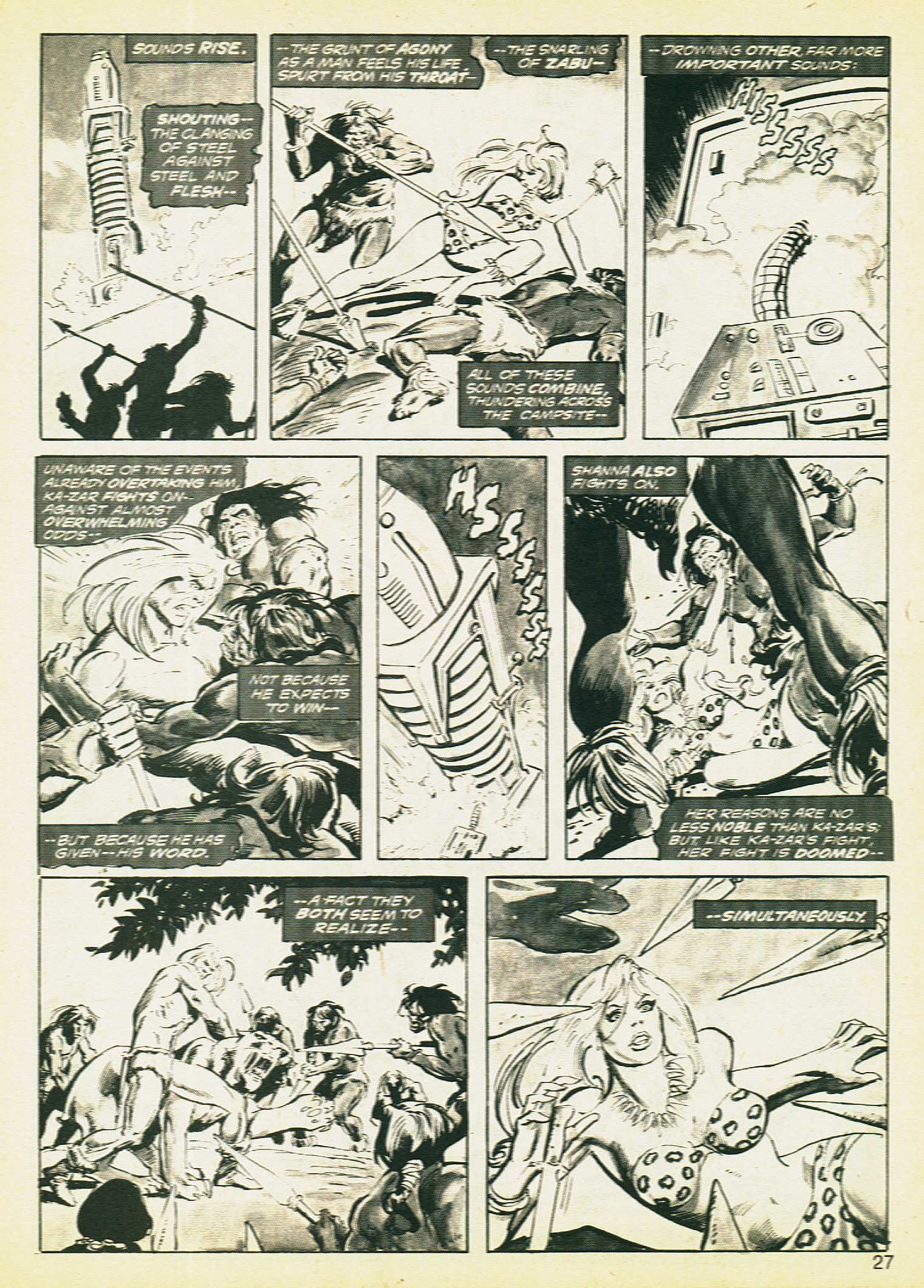 Savage Tales issue 8 - Page 23
