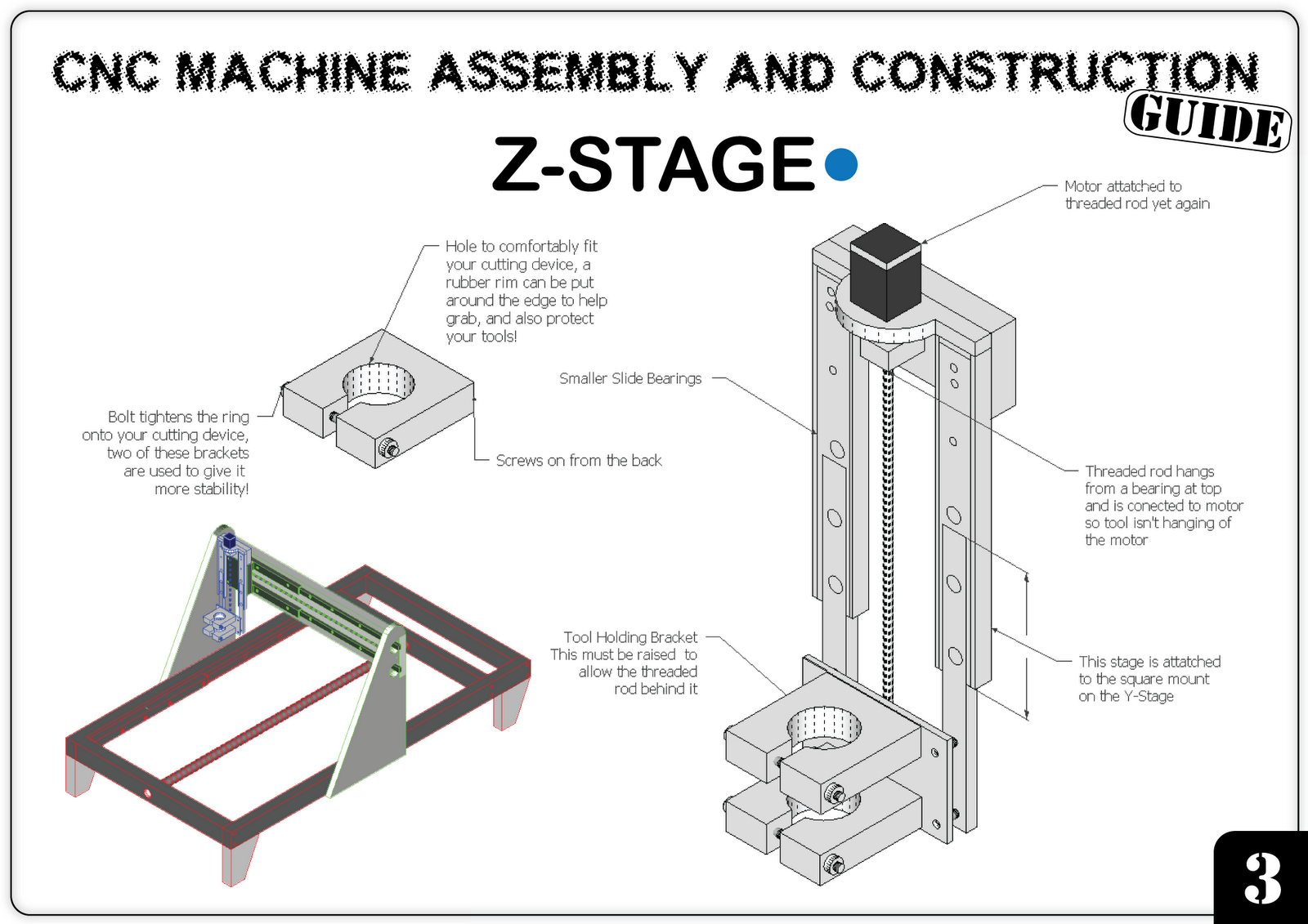 Jasper's DIY CNC Machine: DESIGN PLANS