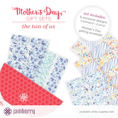 jamberry, mother's day, gift set, the two of us, mommy and me, junior wraps, jamberry junior, matching manis, nail art, nail wraps, exclusive designs, jamberry consultant