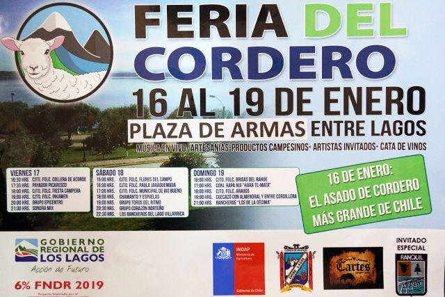 Feria del Cordero en Puyehue