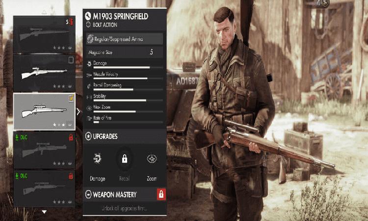 تحميل لعبة سنايبر sniper elite 4 للكمبيوتر مجانا