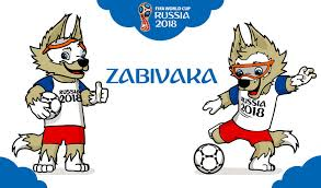 mascote da russia 2018
