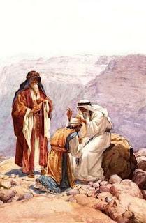 אלעזר יורש את אהרון - וייליאם בראסי הול