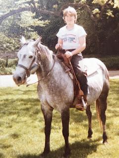 Dan on his horse Smokie