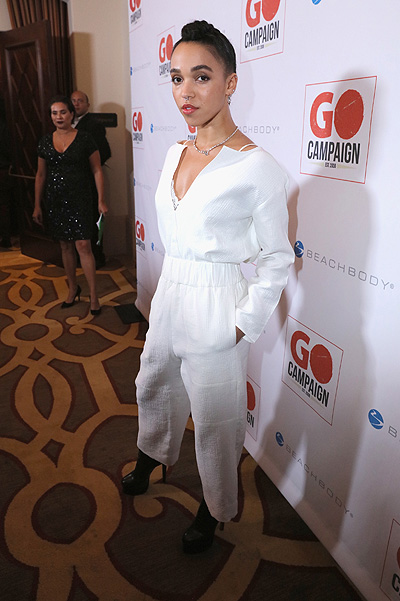 FKA Twigs at GO Campaign Gala