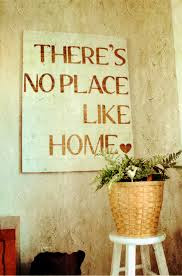 There is no place like home meaning