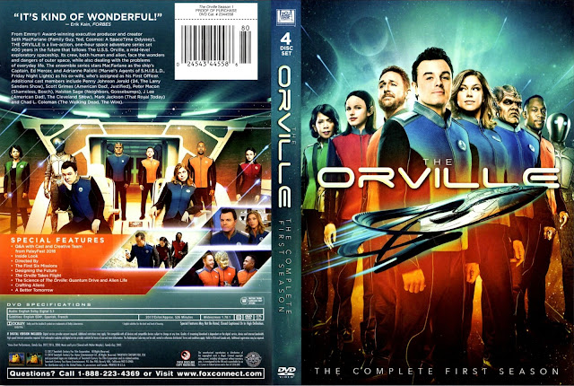 The Orville Season 1 DVD Cover DVD Cover