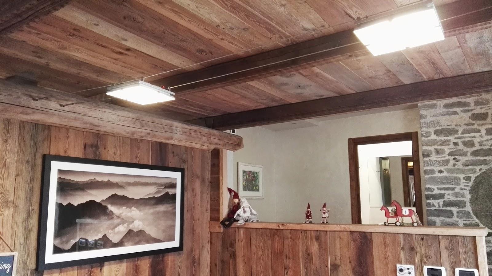 Illuminazione Led casa: lluminare a Led una mansarda, illuminare a Led ambienti con travi a vista.
