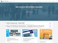 GooAMPV700 - Valid AMP HTML Blogger Template