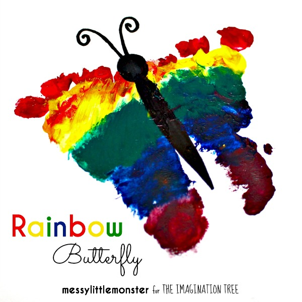 Rainbow Art Ideas For Kids
