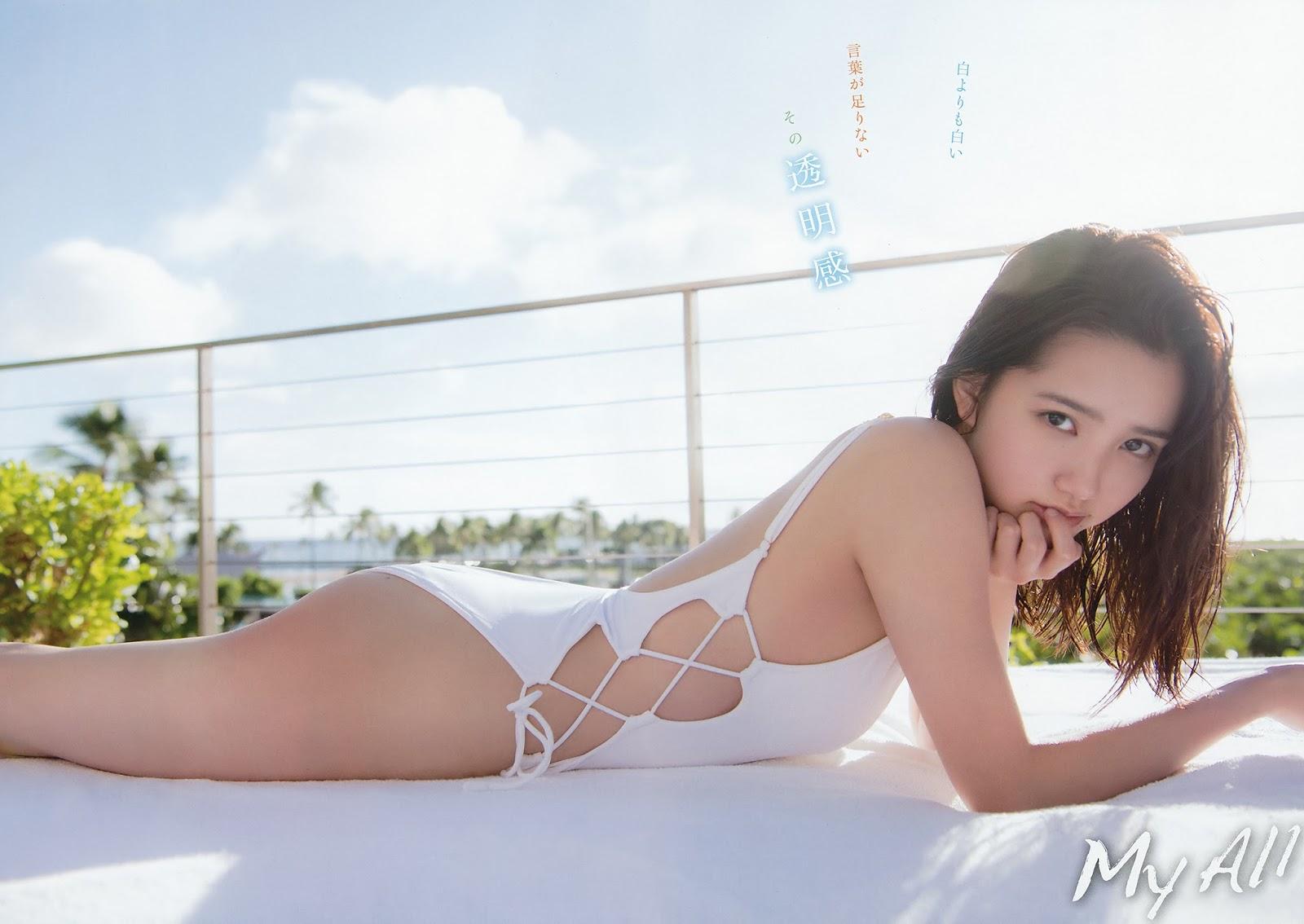 Kato Rena 加藤玲奈, Young Animal 2018 No.07 (ヤングアニマル 2018年7号)