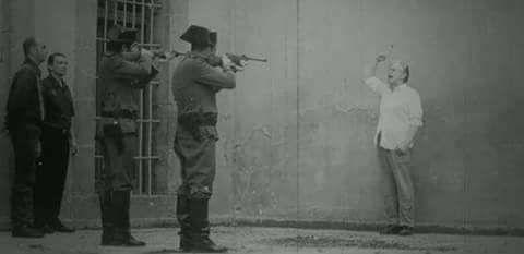 صورة تاريخية لإعدام الشاعر الإسباني الشهير [ لوركا ]