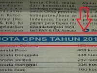 """INFO TERBARU!!! Daftar Daerah yang """"GAGAL"""" Membuka Tes CPNS 2018"""