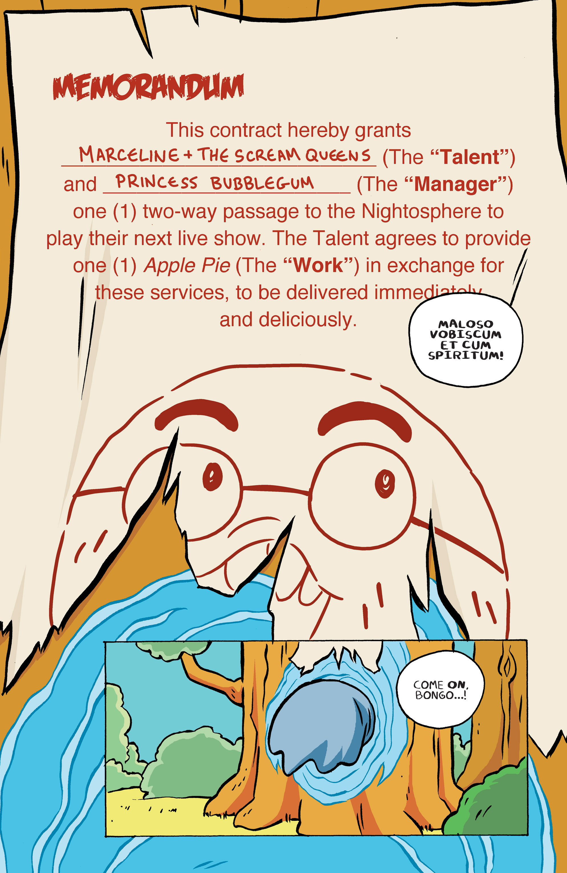 Read online Adventure Time: Marceline and the Scream Queens comic -  Issue #5 - 6
