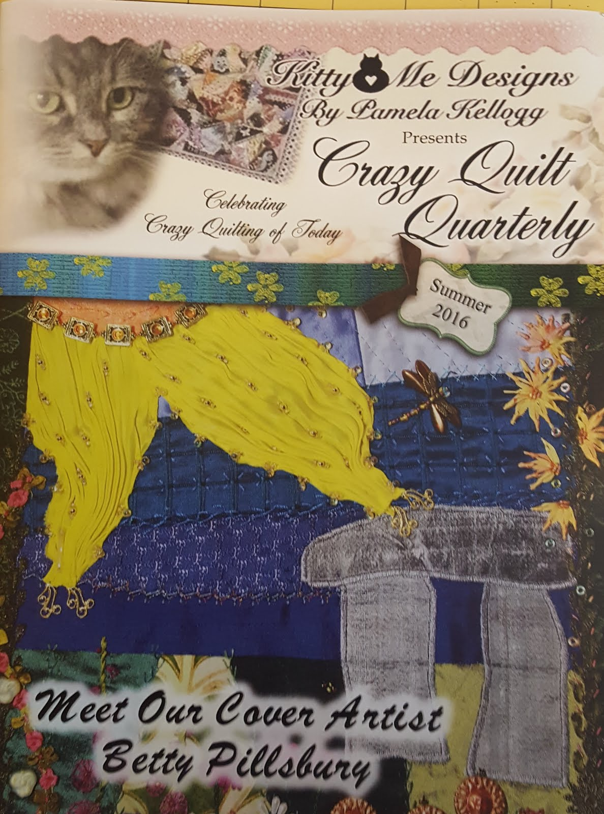 Crazy Quilt Quarterly Summer 2016