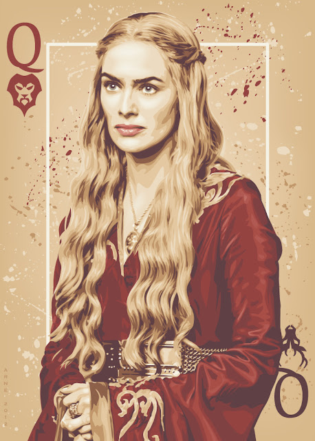 Rainha Cersei  - Game Of Thrones
