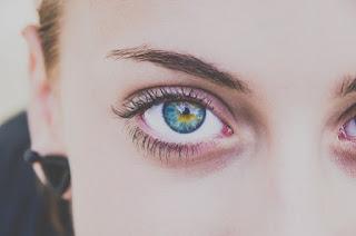 Bagaimana Mata biru Terjadi?
