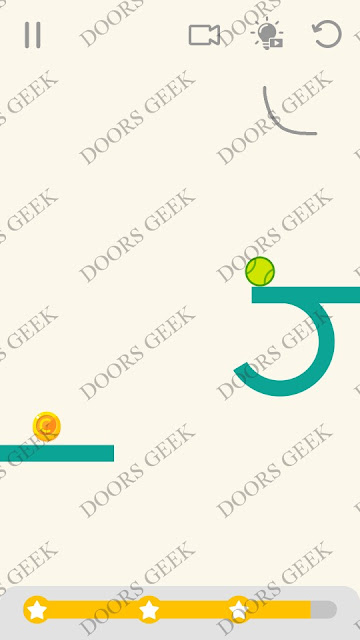 Draw Lines Level 17 Solution, Cheats, Walkthrough 3 Stars for Android and iOS