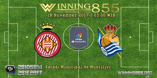Prediksi Girona vs Real Sociedad 18 November 2017