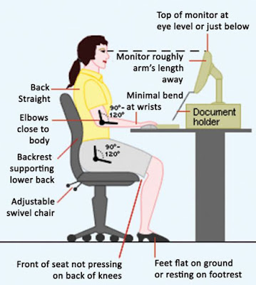 Ergonomic Office Tips