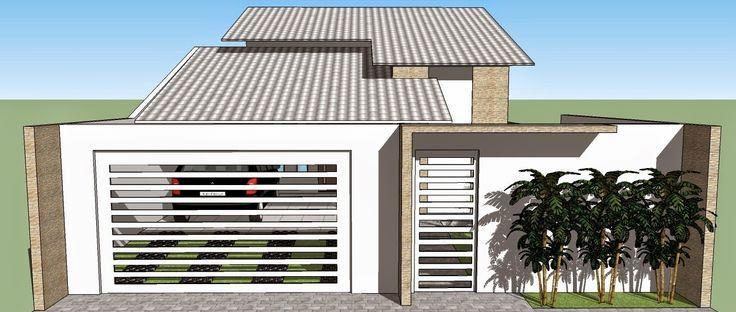 construindominhacasacleancom - Fotos De Fachadas De Casas