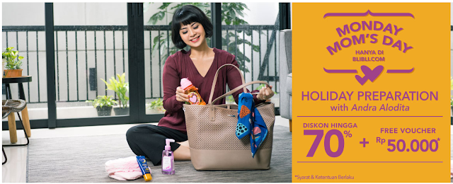 Promo BliBli Monday Moms Day